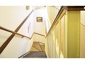 1階 ⇔ 2階 階段