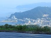 ゆったりとした作りの大浴場からは、熱海の大パノラマを存分にお楽しみいただけます。