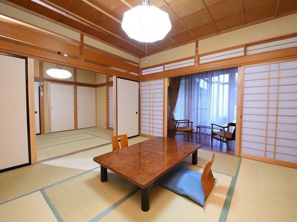 【水芭蕉】一番広く、二間続きのお部屋
