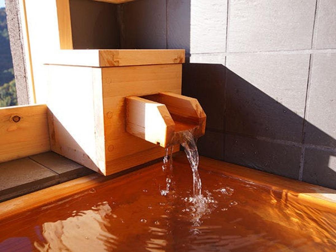 当館のお風呂は全て熱海の名泉を使用しております。