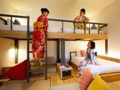 コンセプトルーム「Room TSUNAGARU」おしゃれな2段ベッドでテンション上がりっぱなし♪