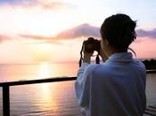 【グランドオーシャンズ】朝日が昇る絶景を客室テラスの露天風呂から眺める癒しの時間!