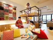 コンセプトルーム「Room TSUNAGARU」ファミリー&女子会は是非このお部屋で!最大10名様OK♪