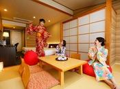 【和洋室】グループやファミリー旅行にぴったりのお部屋!