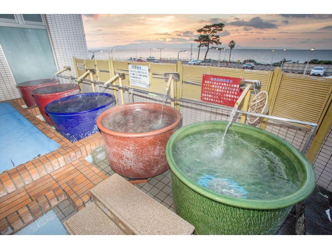 肌にしみこむ化石海水温泉