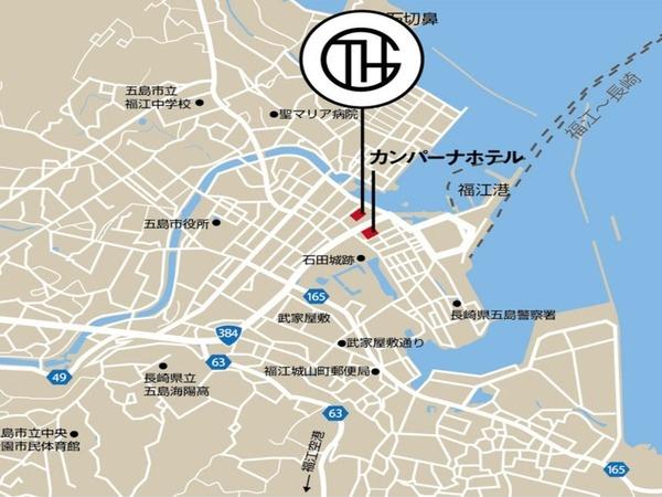 GTH周辺マップ