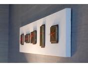 金沢の伝統工芸作家による本物のアートワークのしつらえリュクスフロア ~金工~