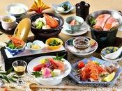 【夕食】春夏の会席料理イメージ「兼六」