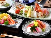 【夕食】会席料理「花菖蒲」※お料理の写真はイメージです。