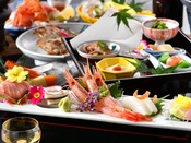 【夕食】春夏の会席料理イメージ「手取川」