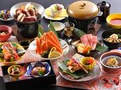 会席料理「兼六」 ※写真は2020年10月から2021年3月までのイメージとなります。