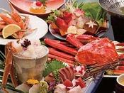 【かにづくし会席】 ※一度に4種類の味わい方が楽しめる、ぜいたくな蟹プラン!