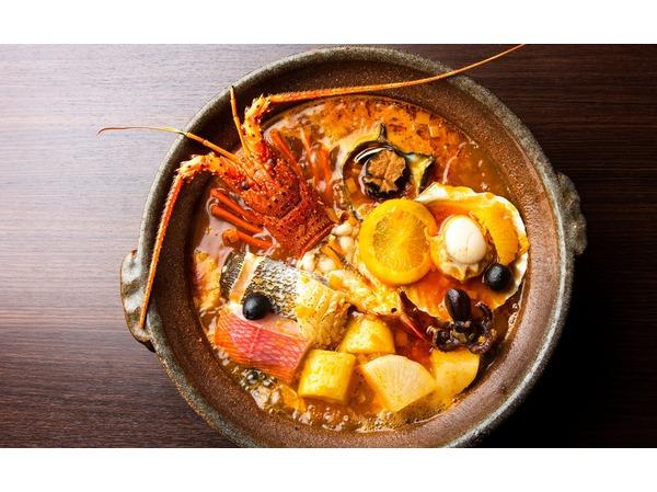 定番の伝統料理フィッシャーマンズスープ