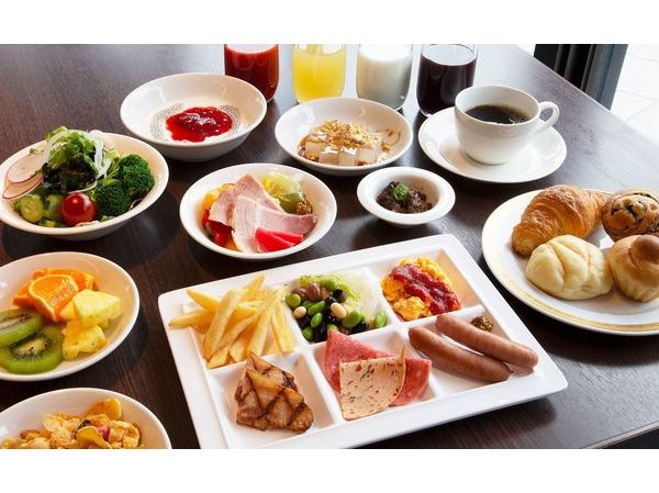和洋ブッフェ、洋食を中心にチョイスした例