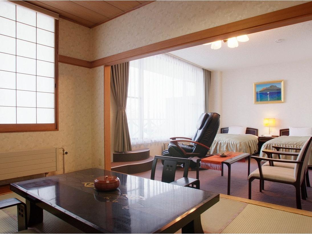 ■客室:湖水側・特別室※写真は一例
