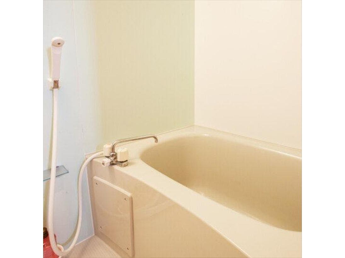 快適なバスルーム、ご自宅のようにゆっくり寛げます