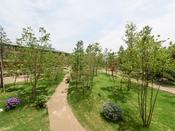 *【景観(新館ネスト・トリプル)】四季折々の彩りに包まれた自然豊かな景色がご覧頂けます