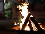 【焚き火を楽しむ】気軽に「火」を感じられる楽しみがここにあります。