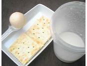 まんまるバターのできあがり♪・・・バター作り体験