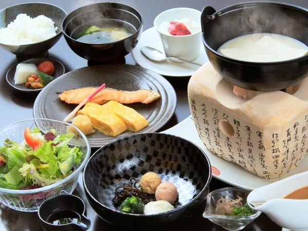 箱根風雅流のご朝食をご用意いたします