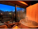 客室の温泉は【強羅温泉】を引水しています
