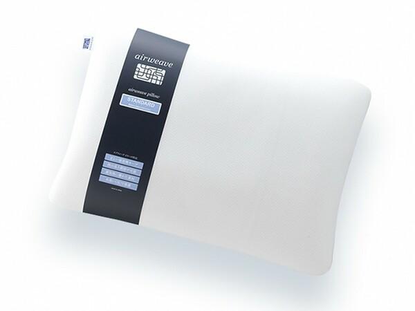優れた復元性と通気性で蒸れにくい高反発のエアウィーヴ枕