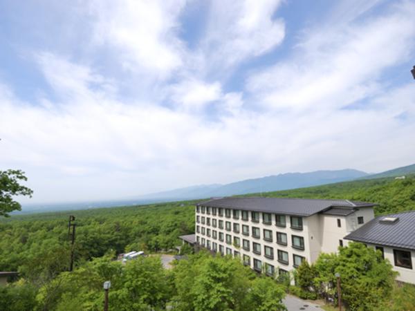 那須高原の眺望
