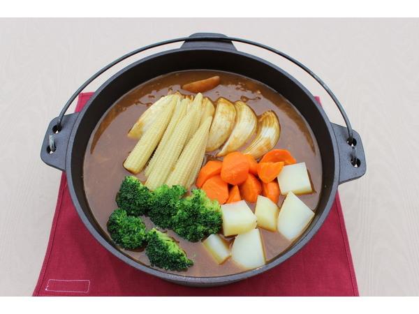 有機野菜のスープカレー ※イメージ