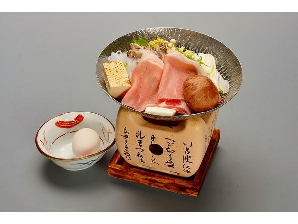 上州豚のすき焼き