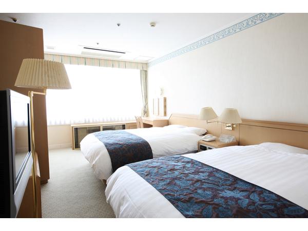 ジュニアスイートルーム(寝室)