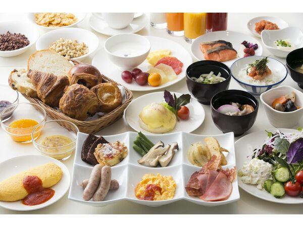 【セリーナ】約60種類の朝食ブッフェ!