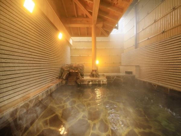 大浴場が待望の温泉化!