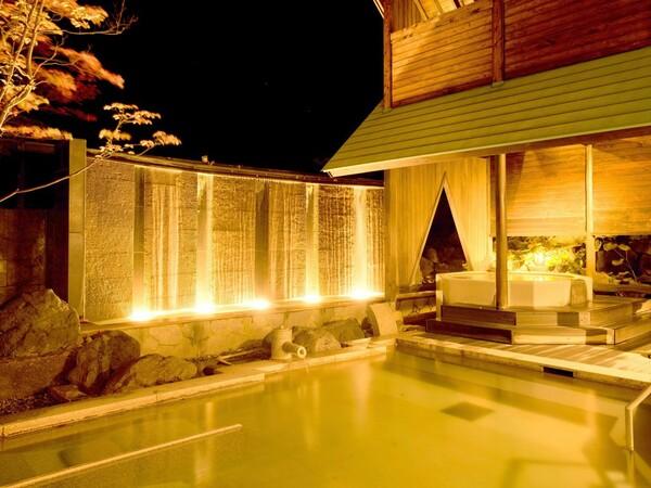 温泉大浴場と露天風呂は、夜中でも利用可能です。