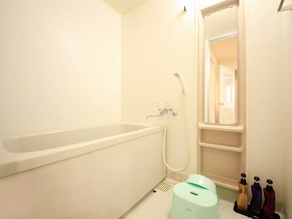 各部屋【浴室完備】時間を気にせずご利用いただけます。