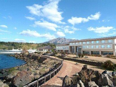 絶景マグマ温泉「レインボー桜島」