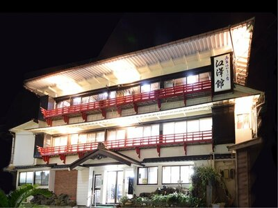 画家ゆかりの宿海上ホテル江澤館