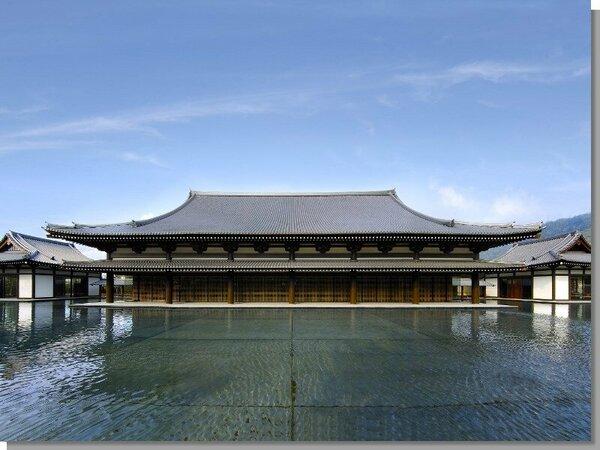 【薩摩伝承館】京都の平等院鳳凰堂を模して造られました。薩摩の歴史、伝統工芸品に興味のある方は是非!