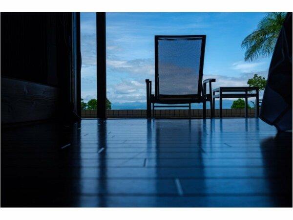 露天風呂を独り占めできる贅沢静かなプライベート空間を満喫