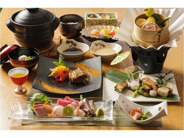 薩摩郷土料理一例