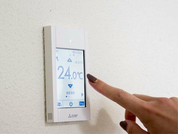 【客室】全客室個別空調