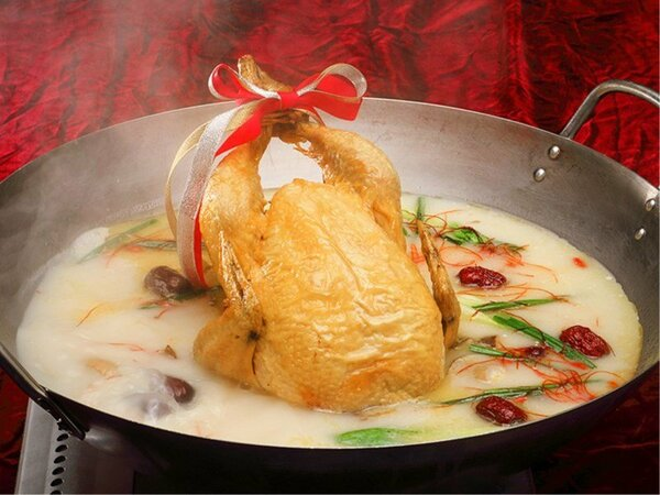 【12月1日~25日】クリスマスメニュー『ローストチキン中華風』※イメージ
