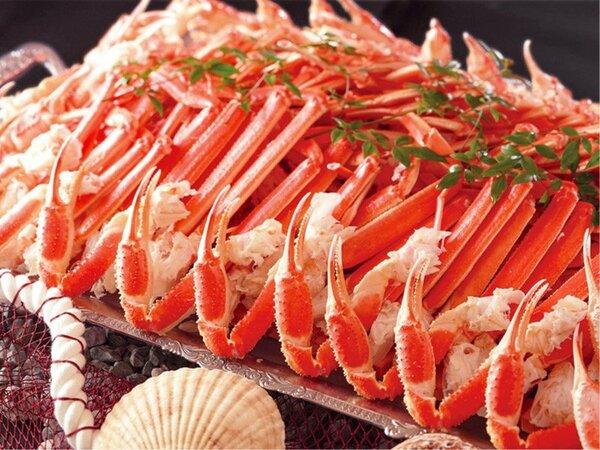 【2月まで】かに食べ放題開催!※紅ずわい蟹は爪と脚のご提供となります。
