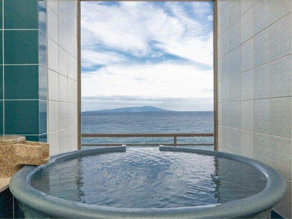 熱川館 最上階 半露天風呂付客室 710号室
