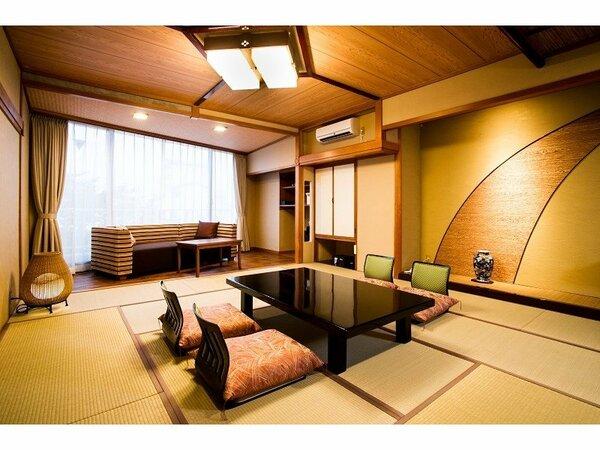 和室15畳・スタンダード客室の一例