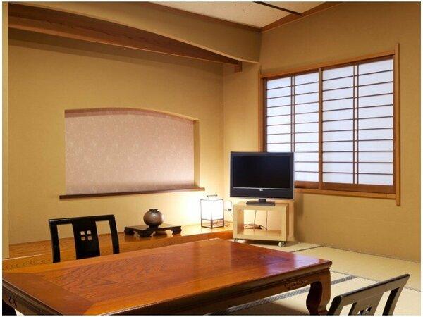 【一間客室/眺望なし】お部屋からの眺望はありませんが、快適さは他客室と同様です。