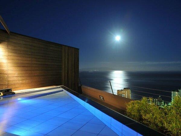 21時 月あかりを感じる【心地浴】。月の満ち引きでパワーチャージやデトックスを感じて下さい。