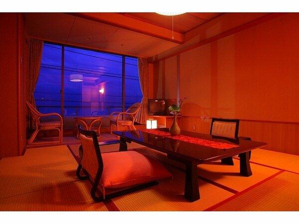 一番予約の多い 海一望10畳和室