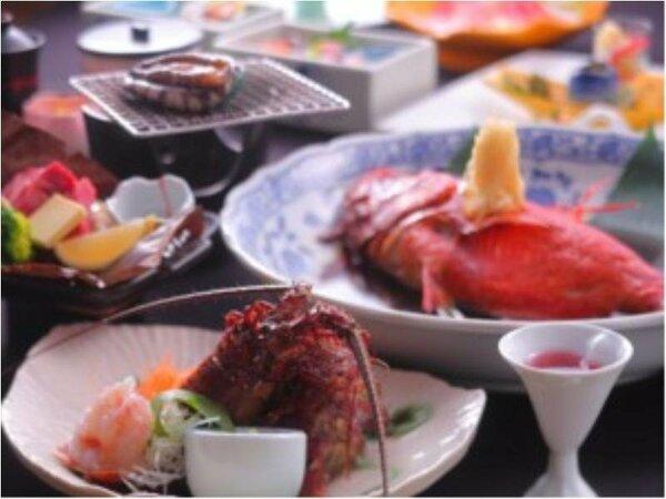 新鮮な海の幸を満喫できるお料理
