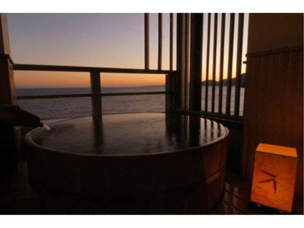 露天風呂付/角部屋専用客室の一例