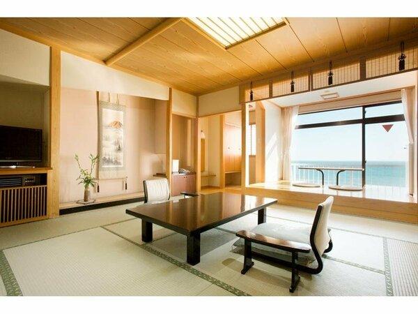 角部屋専用露天風呂付客室一例